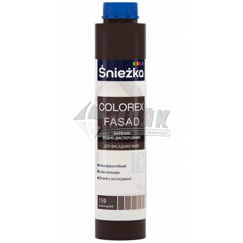 Барвник Sniezka Colorex Fasad 0,75 л 159 шоколадний