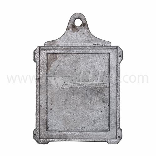 Шибер (заслонка) алюмінієвий ША-4 380×260×290 мм 1,95 кг