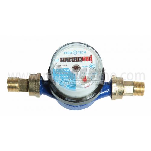 Лічильник холодної води Гідротек Е-Т 1,5U