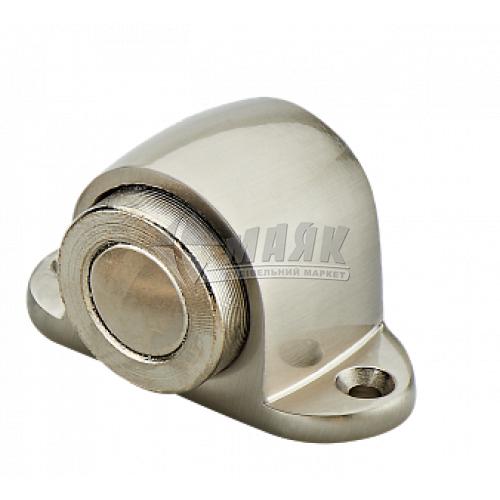 Стопор дверний магнітний MVM М-30 SN підлоговий матовий нікель