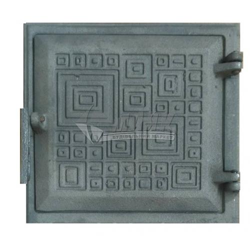 Дверцята для топки Булат Модерн 265×255 мм 4,8 кг
