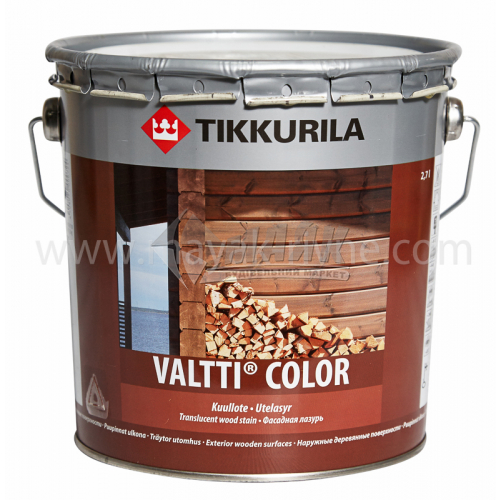 Лазур для деревини Tikkurila Valtti Color для зовнішніх робіт 2,7 л
