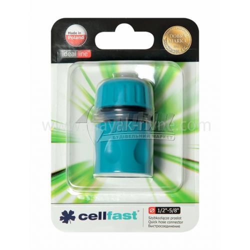 """Конектор пластиковий Cellfast 1/2"""""""
