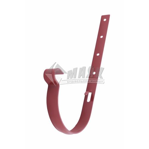 Кронштейн ринви металевий Profil 130/100 червоний