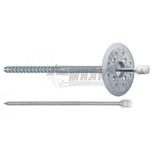 Дюбель для теплоізоляції Wkret-met металевий цвях 10×120 мм 200 шт