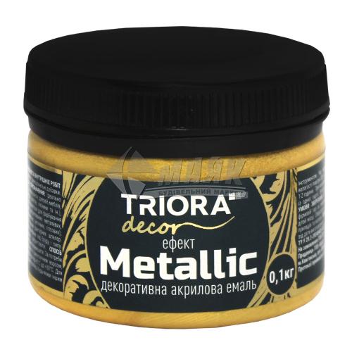Фарба декоративна TRIORA Metallic 0,1 кг 926 золото світле
