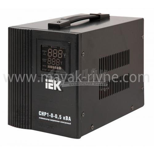 Стабілізатор напруги електронний IEK СНР1-0-5 переносний 5кВА