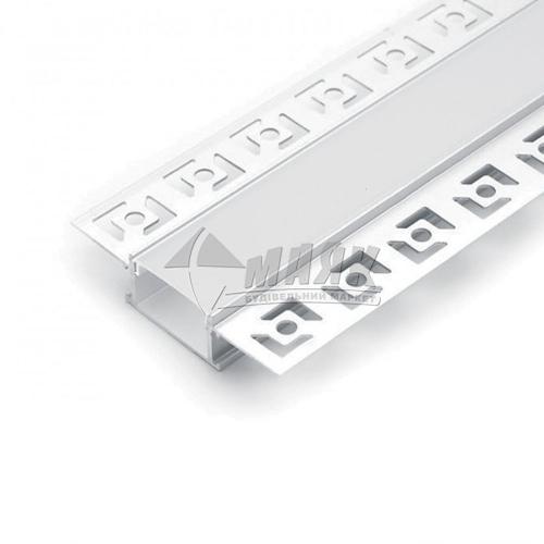 Профіль для світлодіодної стрічки Feron CAB254 вбудований великий