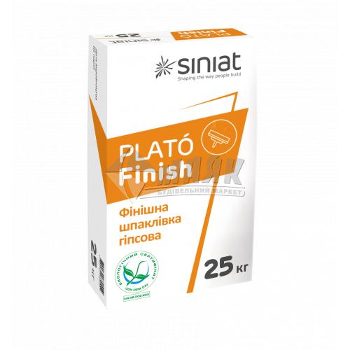 Шпаклівка гіпсова Siniat Plato Finish фінішна 25 кг