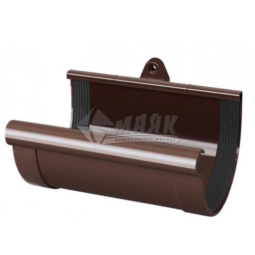 Муфта ринви пластикова NewWay 120 мм коричнева