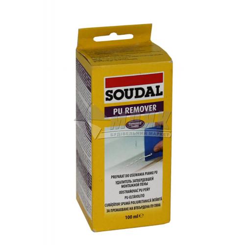 Очисник монтажної піни Soudal Pu Remover 100 мл