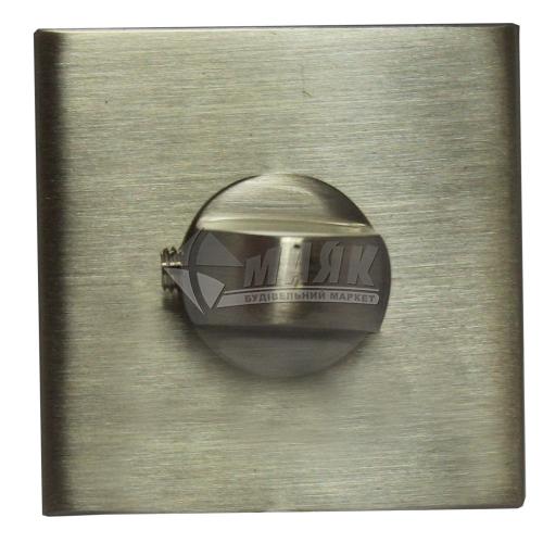 Фіксатор квадратний MVM WC T20 SN нікель матовий