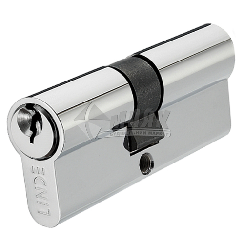 Циліндр ключ-ключ LINDE A5E30/30 СP хром полірований