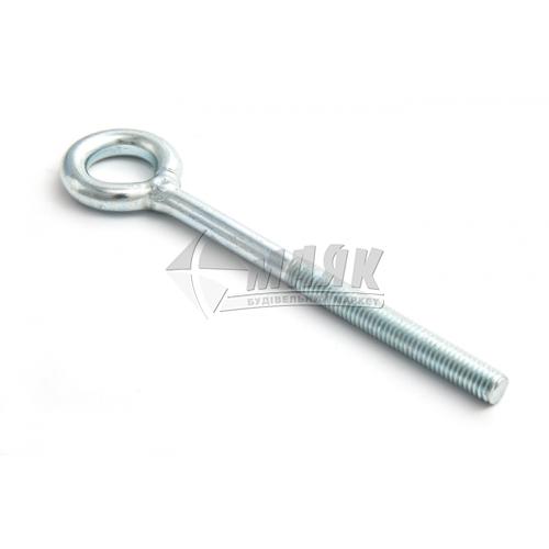 Шпилька з кільцем М10×230 мм сталева
