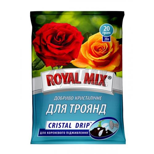 Добриво гранульоване ROYAL MIX GRANE FORTE для троянд 1 кг відро
