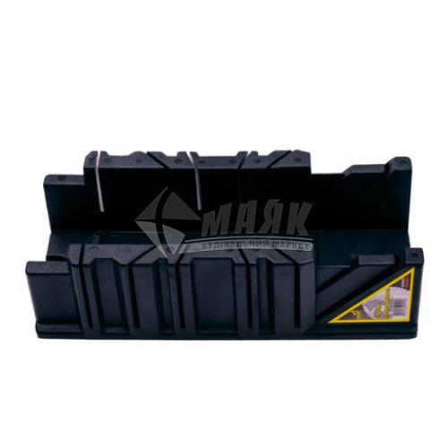 """Стусло для ножівки VIROK 3,5"""" 22,5°-45°-90° 295×80×70 мм пластикове"""