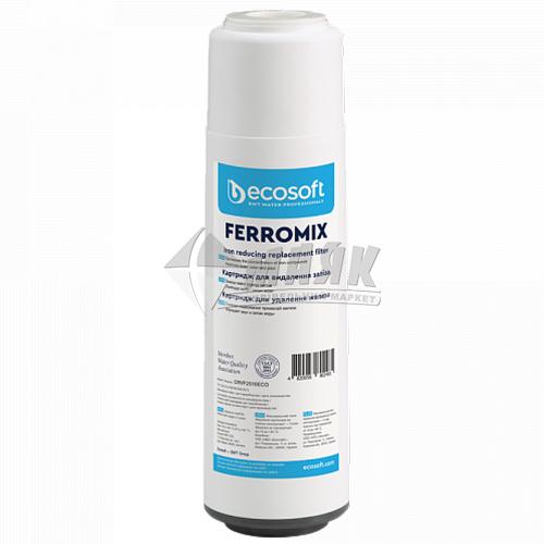 """Картридж для фільтра Ecosoft CRVF2510ECO FEROMIX 2,5×10"""" для видалення заліза"""