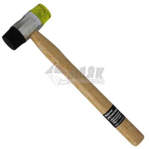 Молоток рихтувальний Sparta 35 мм круглий бойок дерев'яна ручка