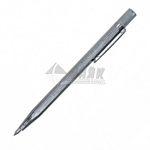 Олівець розмічувальний 145 мм твердосплавний накінечник 1 шт сірий