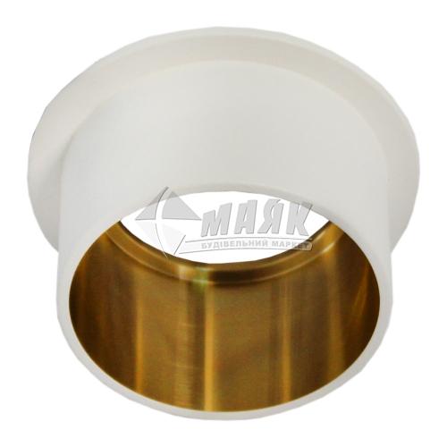 Світильник точковий вбудований Feron DL6005 МR16 GU5.3/G5.3 білий-золото