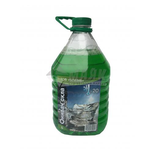Омивач скла зимовий Білевів Океан -20°С 4,8 л зелений