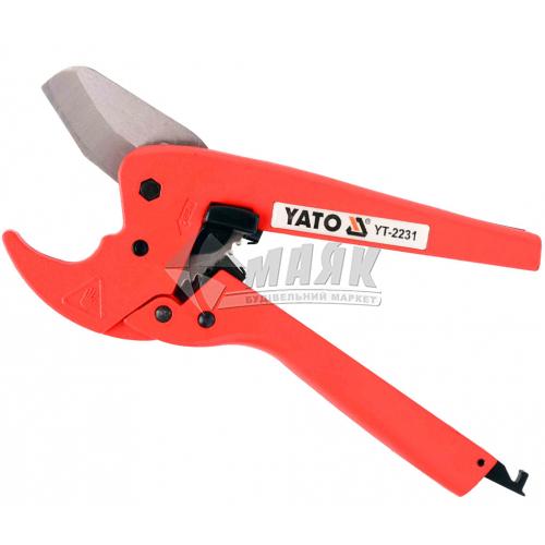 Ножниці для металопластику YATO до 42 мм