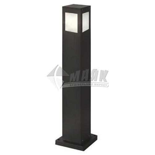 Світильник вуличний HOROZ KAVAK/SQ-5 60Вт Е27 IP44 стовпчик чорний