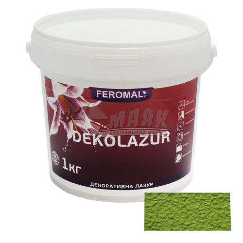 Лазур декоративна Feromal Dekolazur інтер'єрна 1 кг голографічна ультра