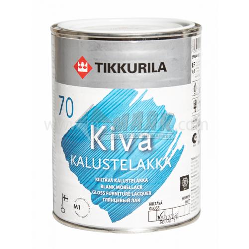 Лак меблевий Tikkurila Kiva акриловий для внутрішніх робіт 0,9 л глянцевий