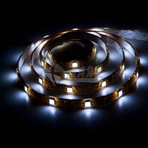 Стрічка світлодіодна Feron LS606 SANAN LED-RL 30SMD 7,2 Вт/пог.м 12В IP20 5 пог.м біла