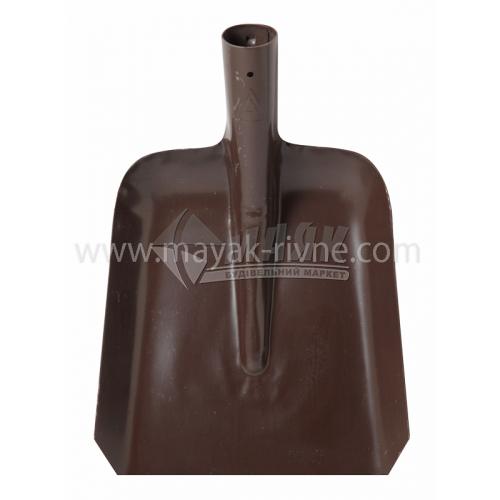 Лопата совкова АРМА 270×240 мм без ручки