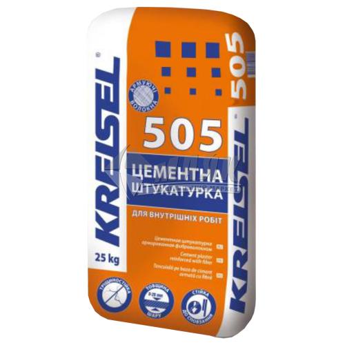 Штукатурка цементна Kreisel 505 універсальна 25 кг