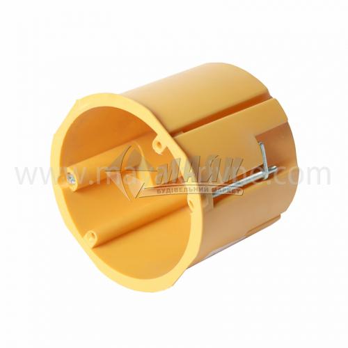 Коробка монтажна Копос KPR 68/71L 73×66 мм для гіпсокартону пластикові пелюстки