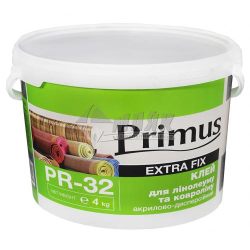 Клей для лінолеуму та ковроліну Primus акриловий 4 кг