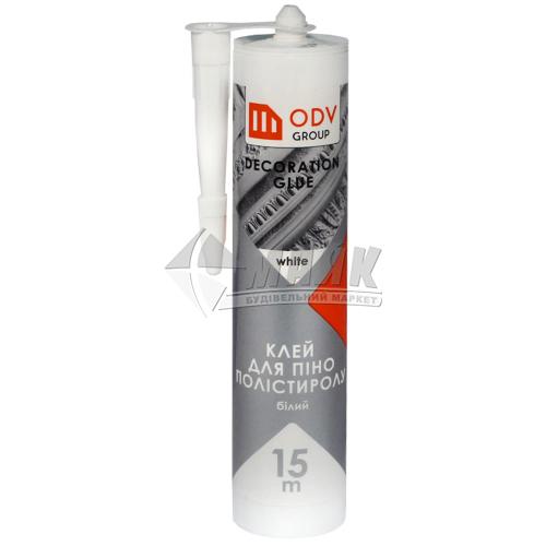 Клей монтажний (рідкі цвяхи) акриловий ODV Group Декор 280 мл білий