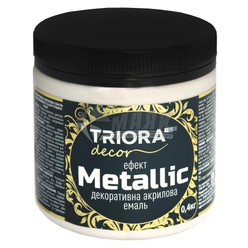 Фарба декоративна TRIORA Metallic 0,4 кг 927 хамелеон