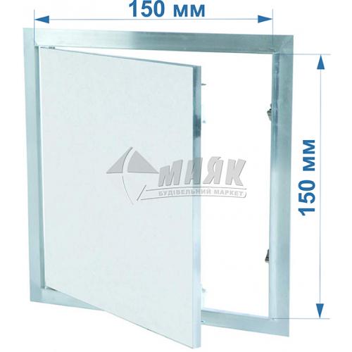 Дверцята ревізійні F1 G:125 150x150 мм гіпсокартон 12,5 мм
