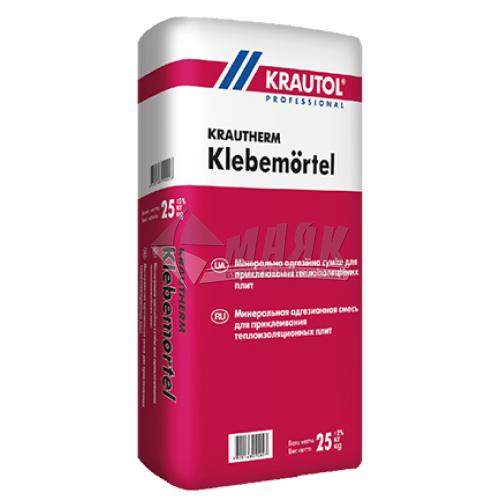 Клей монтажний для систем теплоізоляції KRAUTOL Klememörtel 25 кг