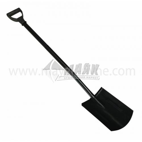 Лопата штикова прямокутна 35805 металева ручка