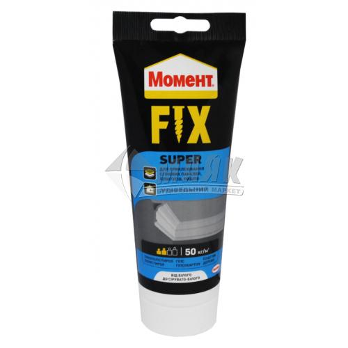 Клей монтажний (рідкі цвяхи) Момент FIX Super 125 г