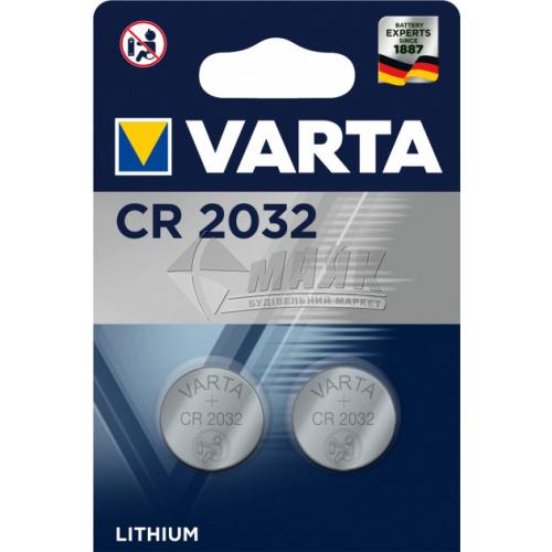 Батарейка VARTA CR2032 Lithium літієва 1 шт