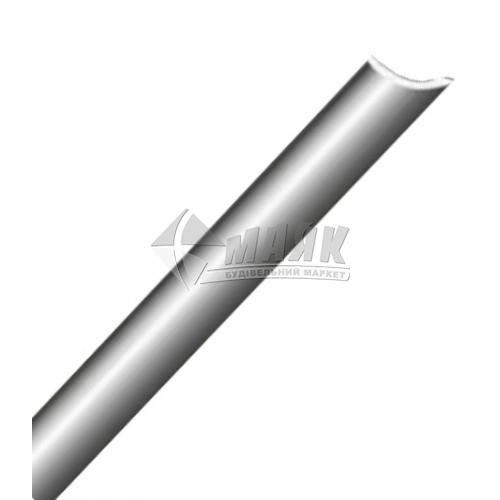 Профіль для плитки алюмінієвий TIS АК10 10×10×2700 мм срібло