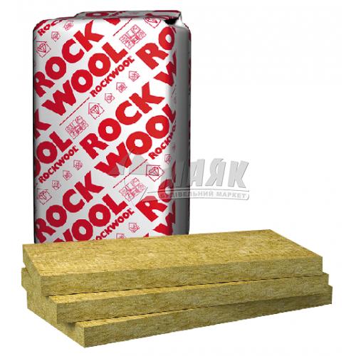 Вата мінеральна базальтова Rockwool Rockmin 100 мм 26 кг/куб.м 6 кв.м