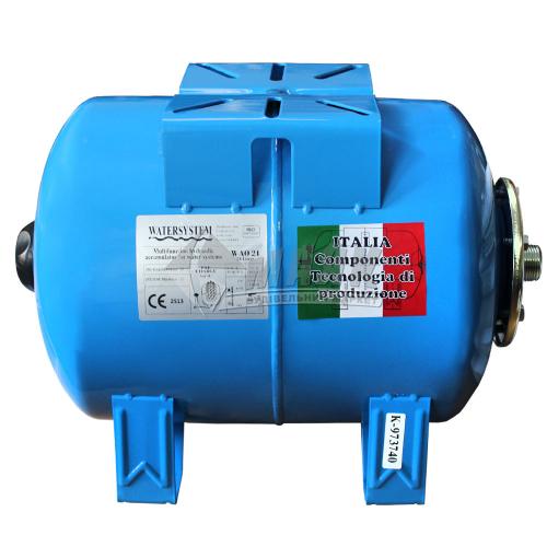 Бак гідроакумуляційний WATERSYSTEM 24 л горизонтальний
