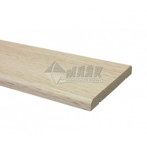 Налічник ОМіС ПВХ прямий 70 мм 2,2 м дуб білений