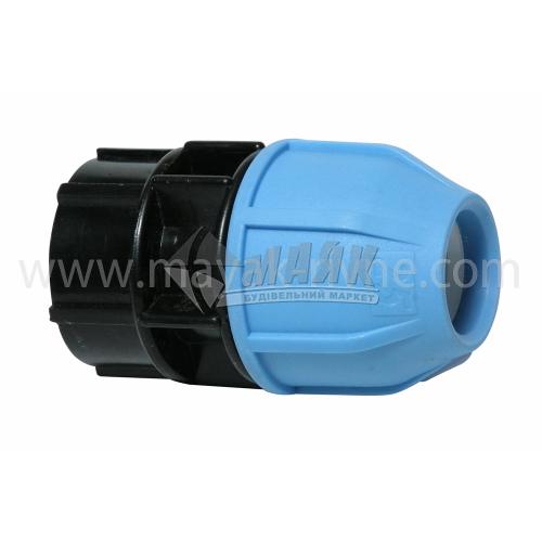 """Муфта для водопровідної труби VS Plast 25 мм 1"""" внутрішня різьба"""