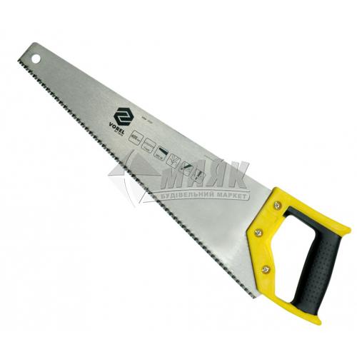 Ножівка по дереву VOREL 7TPI 400 мм пластикова ручка