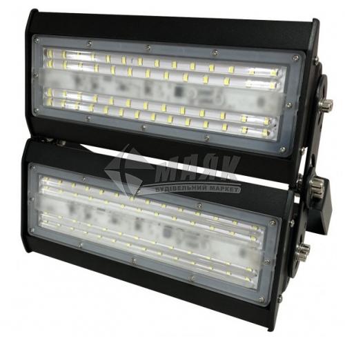 Прожектор світлодіодний секційний Luxel LX-100C 100Вт 6500°К чорний