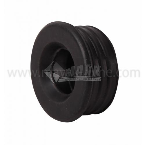 Редукція ПВХ внутрішня каналізація 40×25 мм чорна