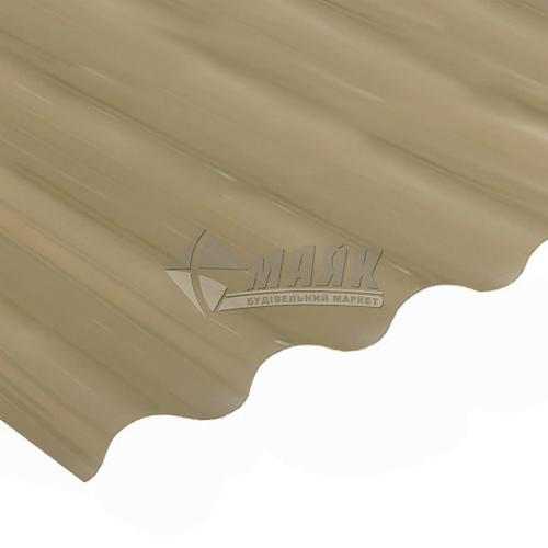 Лист ПВХ Salux WHR 1800×900×0,8 мм бронзова трапеція